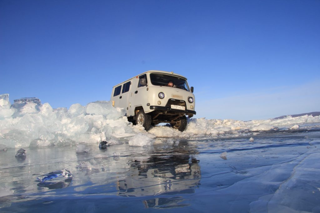 Ice Tour Around Lake Baikal