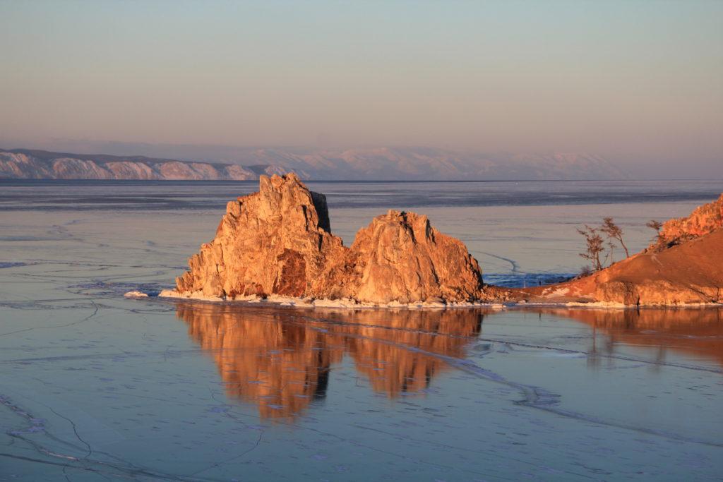 Burkhan Rock, Olkhon island