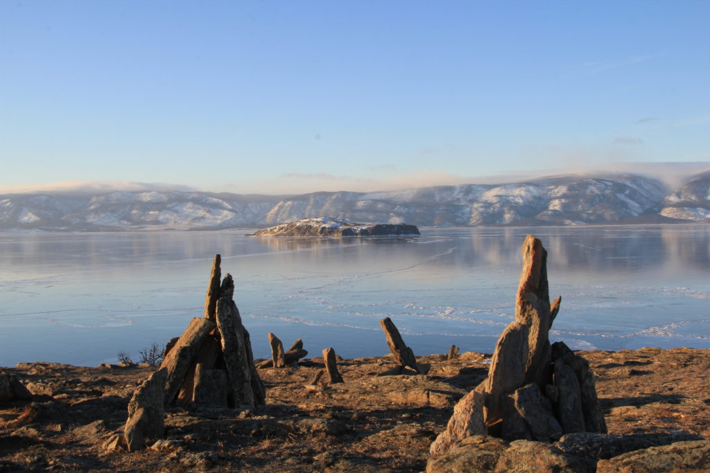 Lake Baikal. Stone Garden. Photo by Jack Sheremetoff